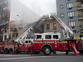 Fire on the Bowery