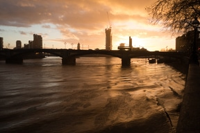 Light on the Thames
