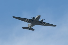 Dakota flypast